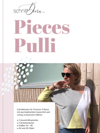 PIECES-Pulli Schnittmuster eBook