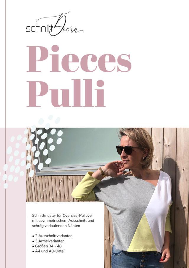 PIECES-Pulli Schnittmuster eBook