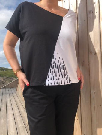 PIECES-Pulli ohne Arm