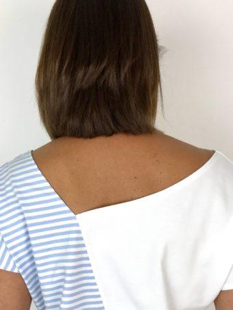 Pieces-Pulli von simonekessemeier Rückenausschnitt