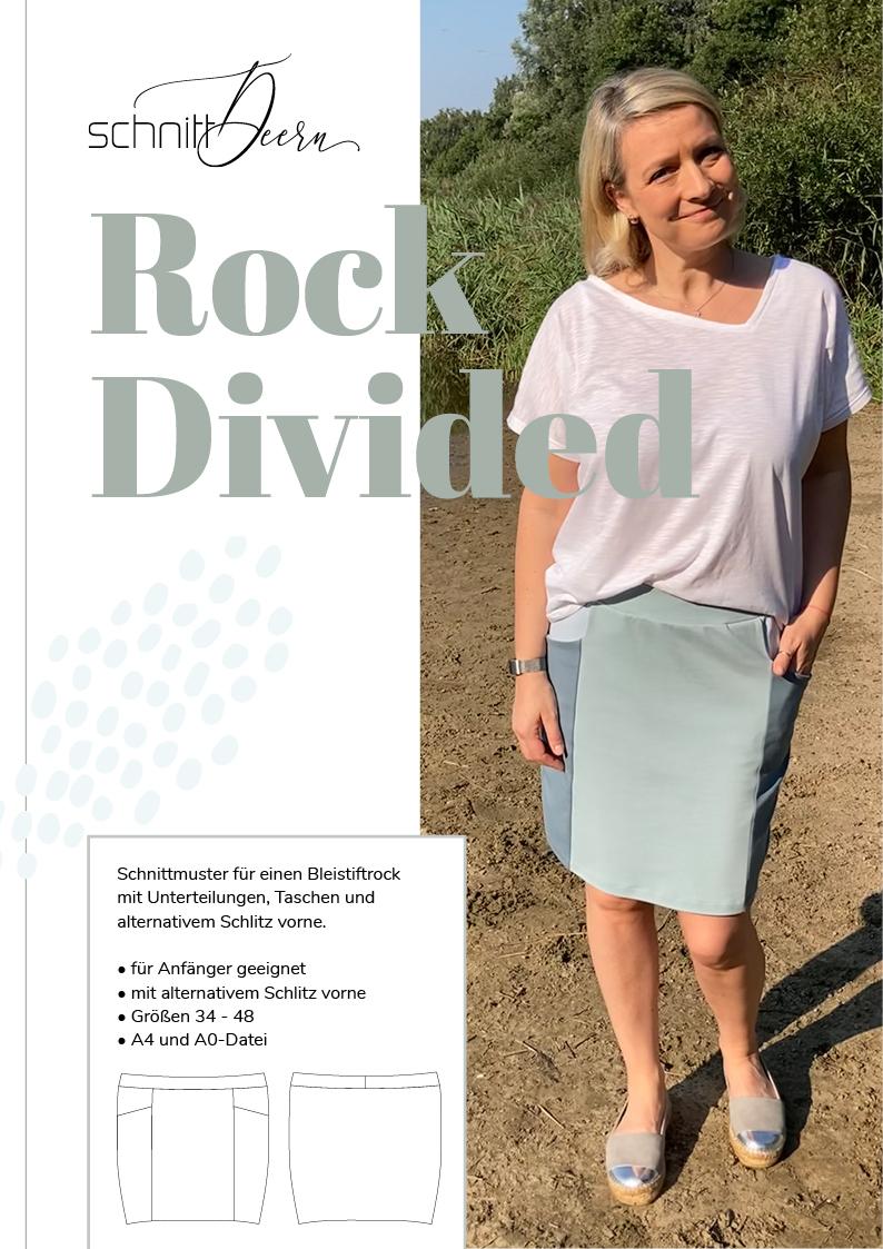 Rock DIVIDED Schnittmuster eBook schnittdeern