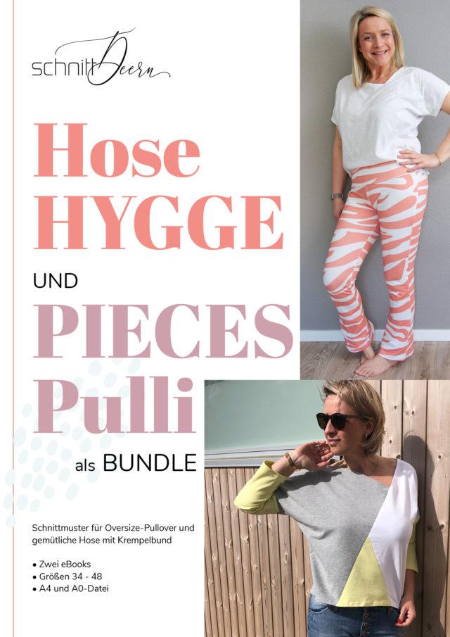 Bundle Hose HYGGE und PIECES Pulli