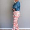 Hose HYGGE ohne Taschen mit weitem Bein ohne Bündchen